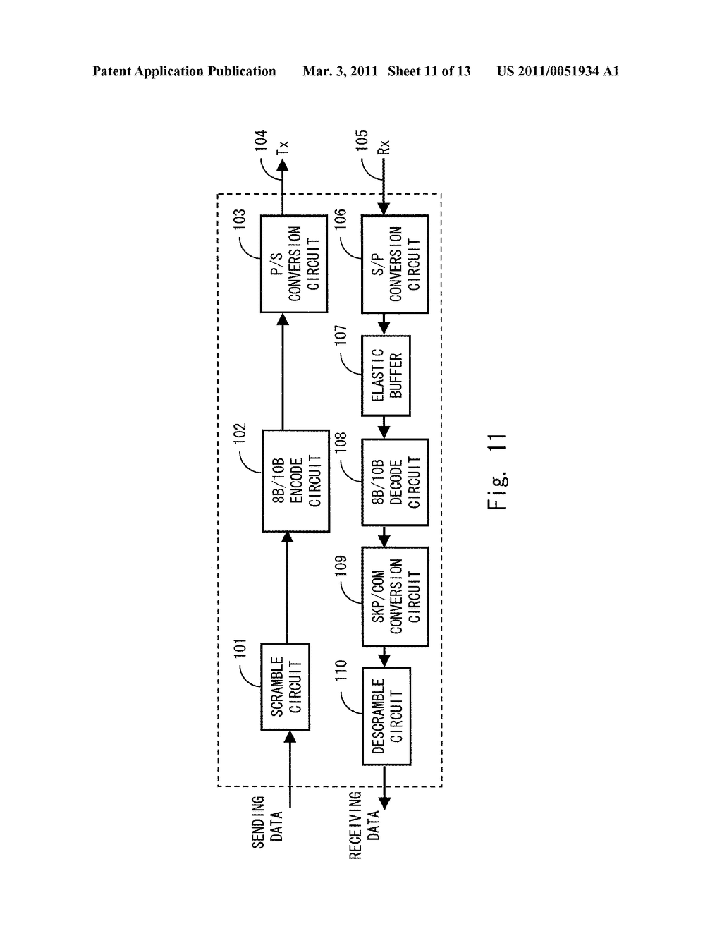 DATA RECEIVING DEVICE, DATA RECEIVING METHOD AND PROGRAM - diagram, schematic, and image 12