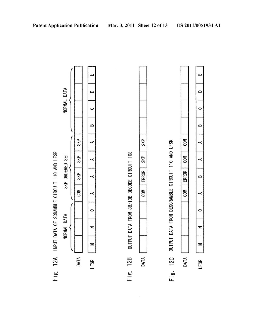 DATA RECEIVING DEVICE, DATA RECEIVING METHOD AND PROGRAM - diagram, schematic, and image 13
