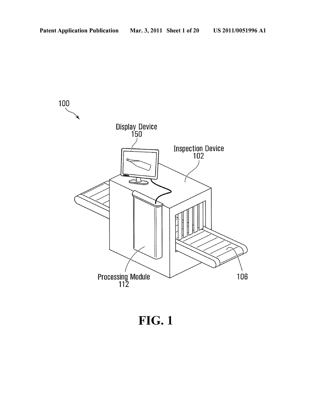 METHOD AND SYSTEM FOR PERFORMING X-RAY INSPECTION OF A PRODUCT AT A SECURITY CHECKPOINT USING SIMULATION - diagram, schematic, and image 02