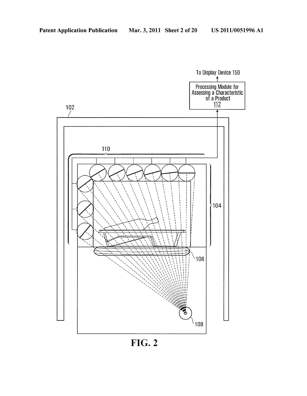 METHOD AND SYSTEM FOR PERFORMING X-RAY INSPECTION OF A PRODUCT AT A SECURITY CHECKPOINT USING SIMULATION - diagram, schematic, and image 03
