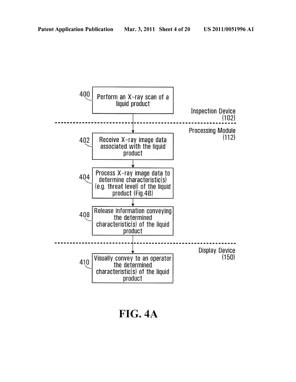 METHOD AND SYSTEM FOR PERFORMING X-RAY INSPECTION OF A PRODUCT AT A SECURITY CHECKPOINT USING SIMULATION - diagram, schematic, and image 05