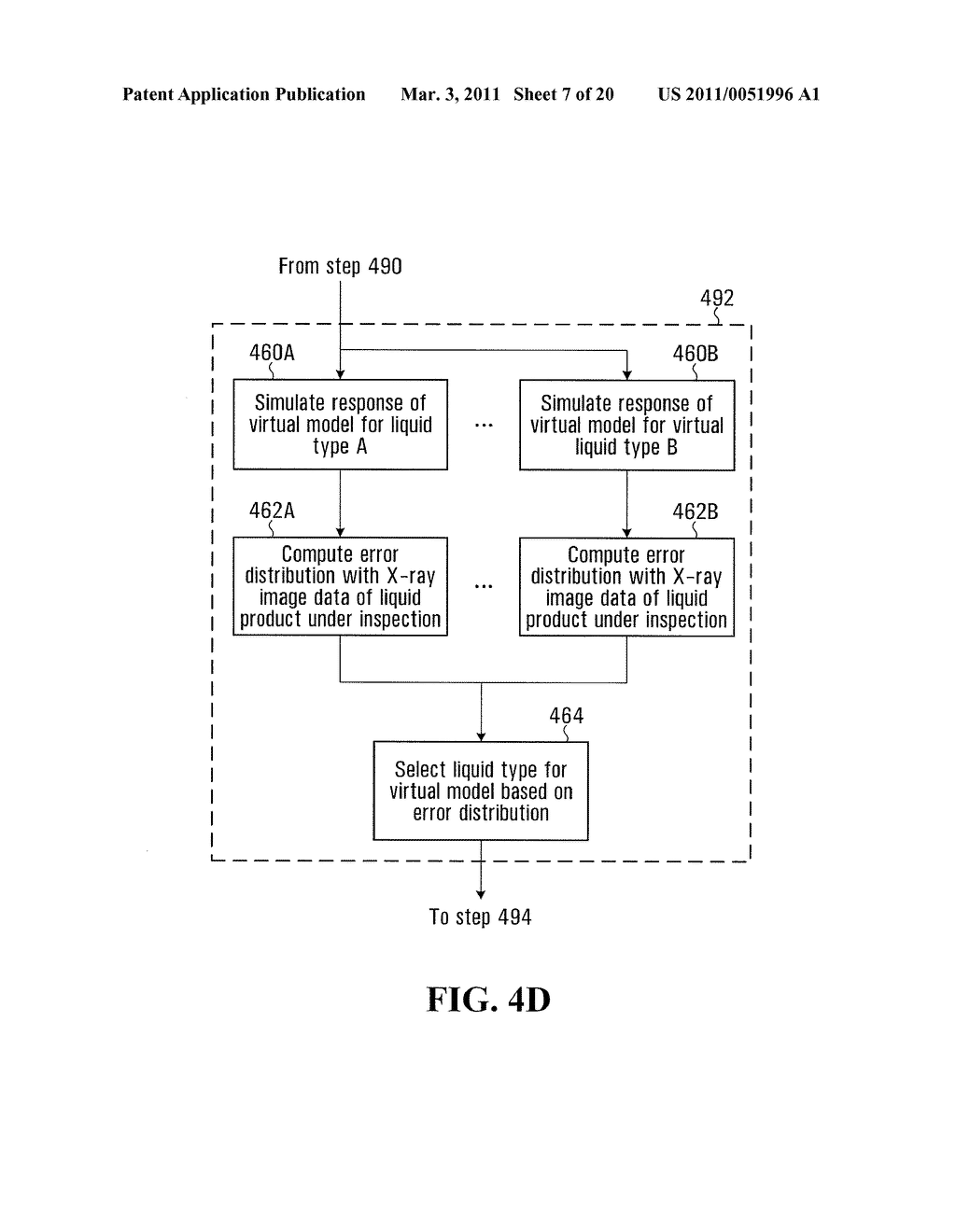 METHOD AND SYSTEM FOR PERFORMING X-RAY INSPECTION OF A PRODUCT AT A SECURITY CHECKPOINT USING SIMULATION - diagram, schematic, and image 08