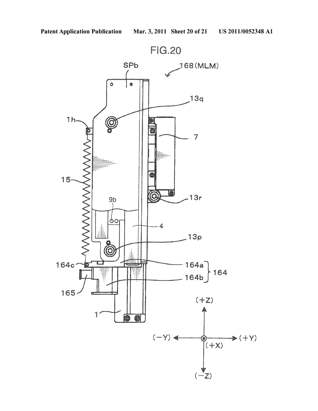 MULTI-SHAFT LINEAR MOTOR AND COMPONENT TRANSFER APPARATUS - diagram, schematic, and image 21