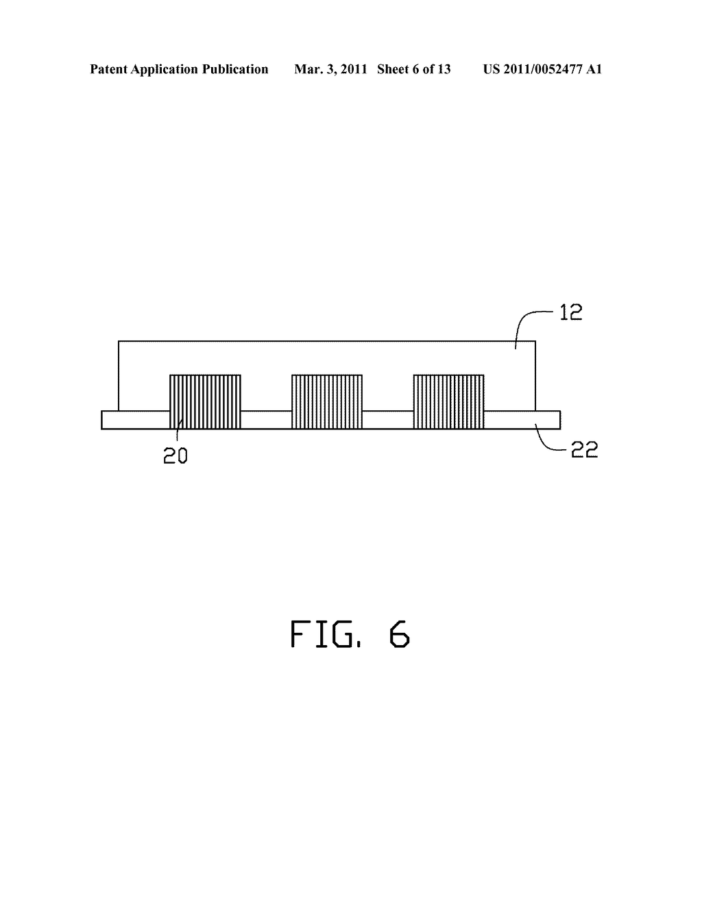 APPARATUS FOR MANUFACTURING CARBON NANOTUBE HEAT SINK AND METHOD FOR MAKING THE CARBON NANOTUBE HEAT SINK - diagram, schematic, and image 07