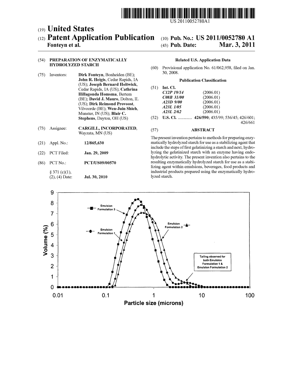 PREPARATION OF ENZYMATICALLY HYDROLYZED STARCH - diagram, schematic, and image 01