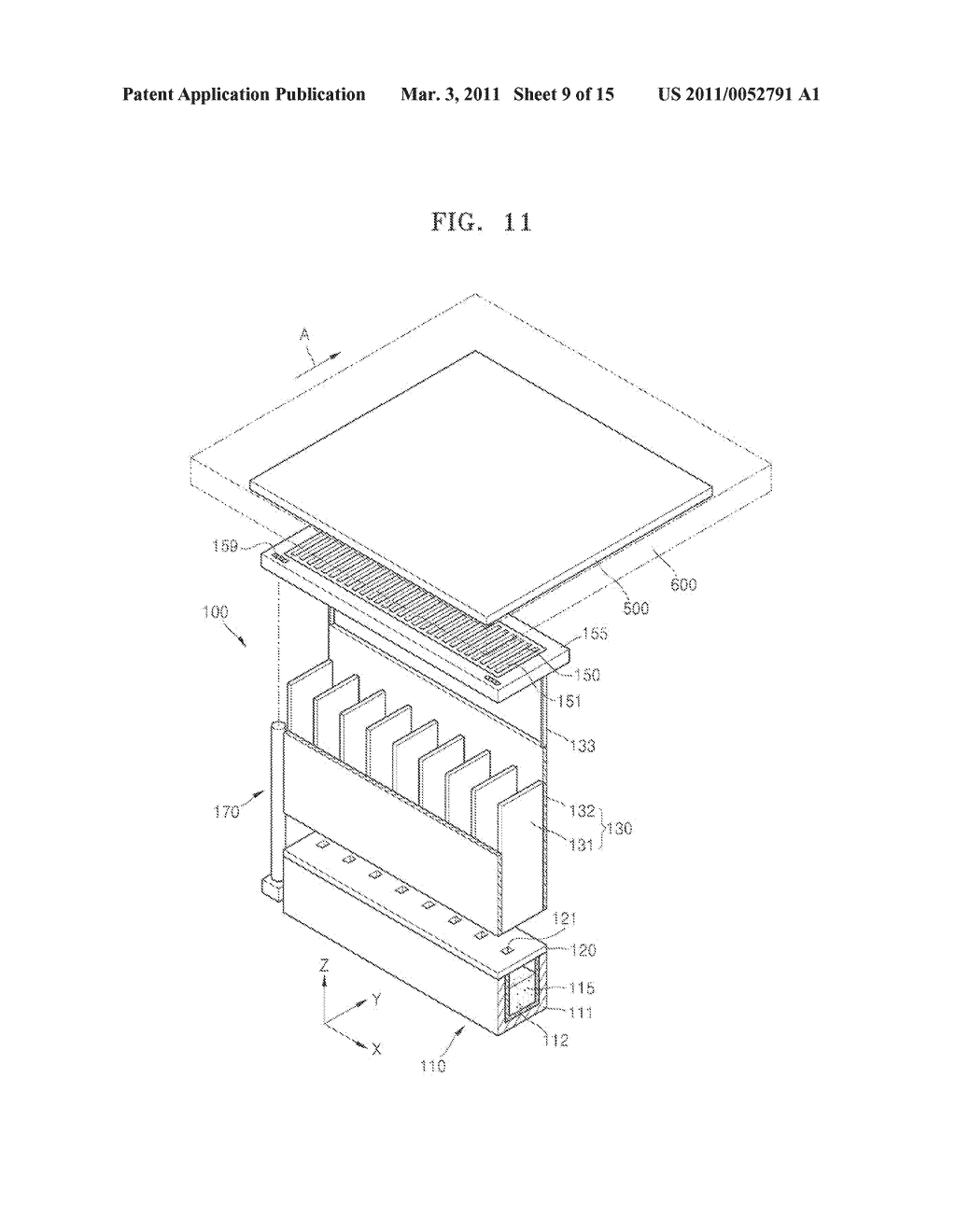 THIN FILM DEPOSITION APPARATUS AND METHOD OF MANUFACTURING ORGANIC LIGHT-EMITTING DISPLAY APPARATUS USING THE SAME - diagram, schematic, and image 10