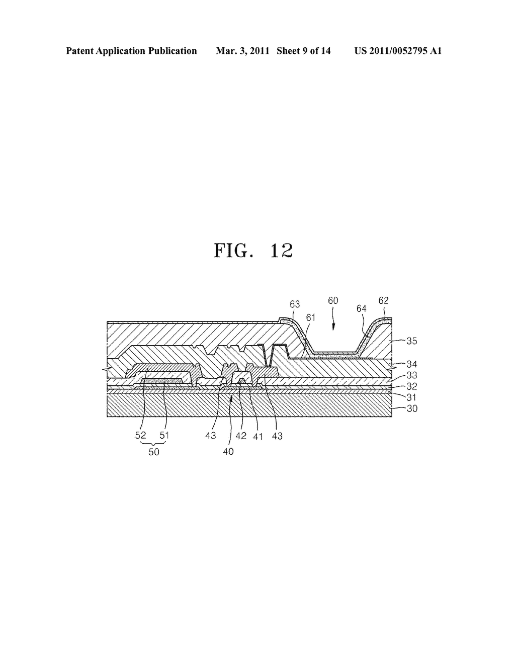 THIN FILM DEPOSITION APPARATUS AND METHOD OF MANUFACTURING ORGANIC LIGHT-EMITTING DISPLAY DEVICE BY USING THE SAME - diagram, schematic, and image 10
