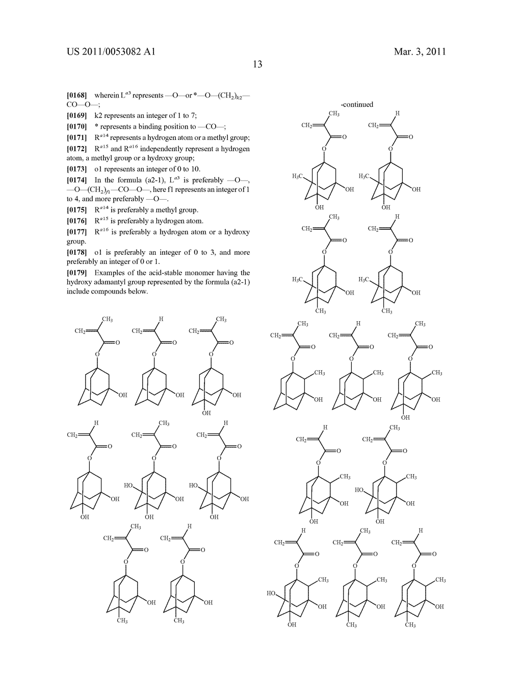RESIN, RESIST COMPOSITION AND METHOD FOR PRODUCING RESIST PATTERN - diagram, schematic, and image 14