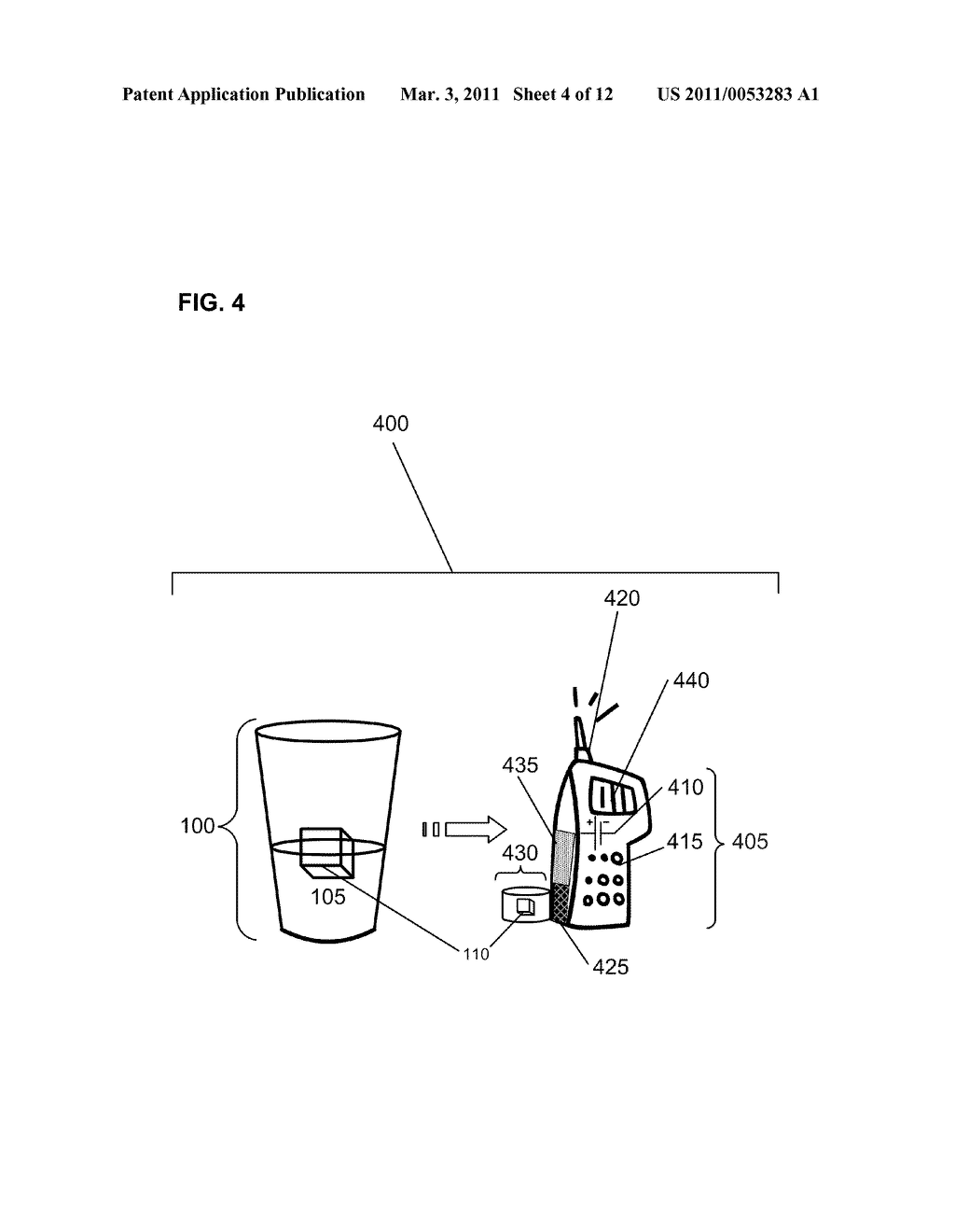 Beverage Immersate with detection capability - diagram, schematic, and image 05