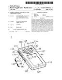 MOBILE COMMUNICATION DEVICE WITH ERGONOMIC FEATURE diagram and image