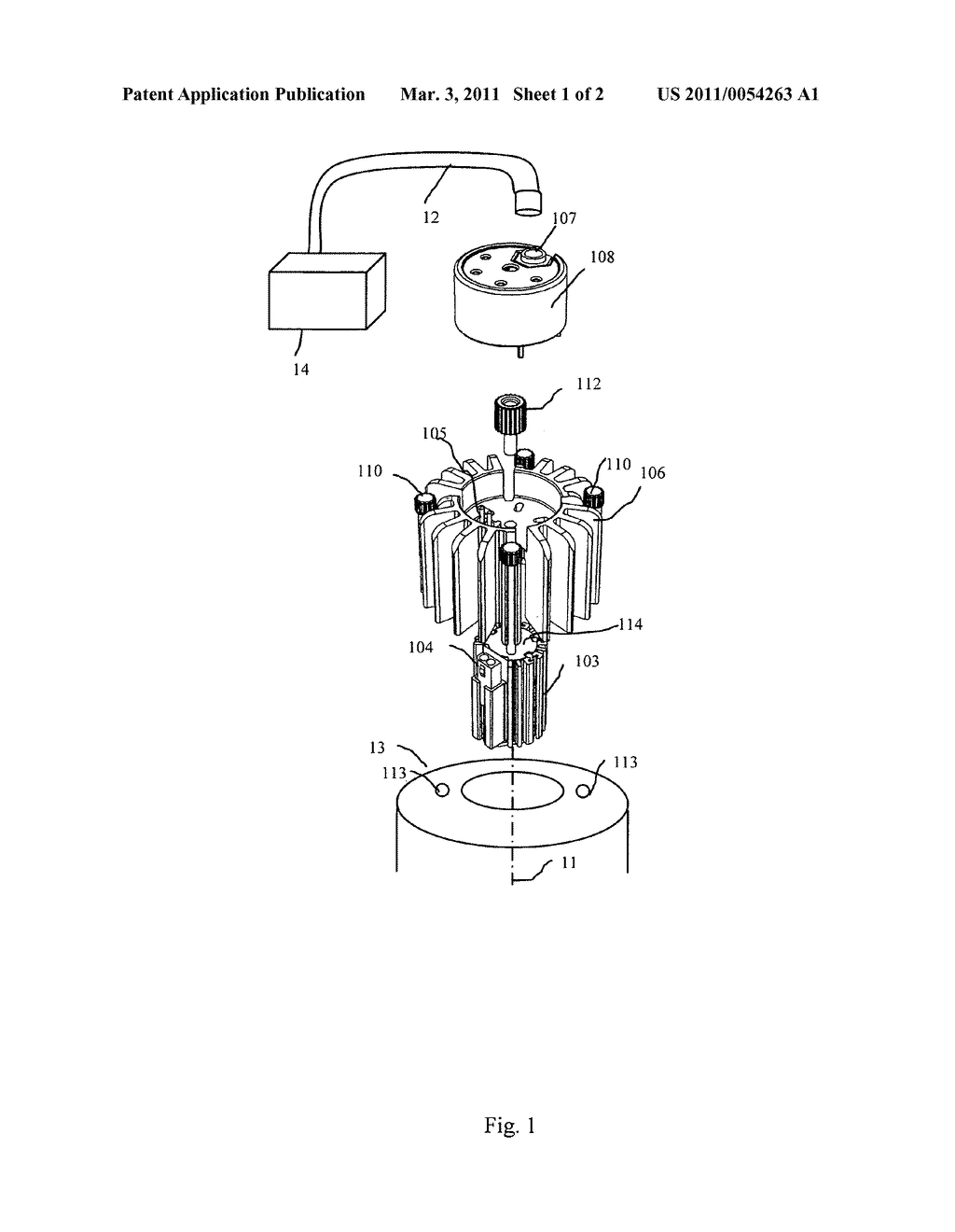Replaceable LED illumination assembly for medical instruments - diagram, schematic, and image 02