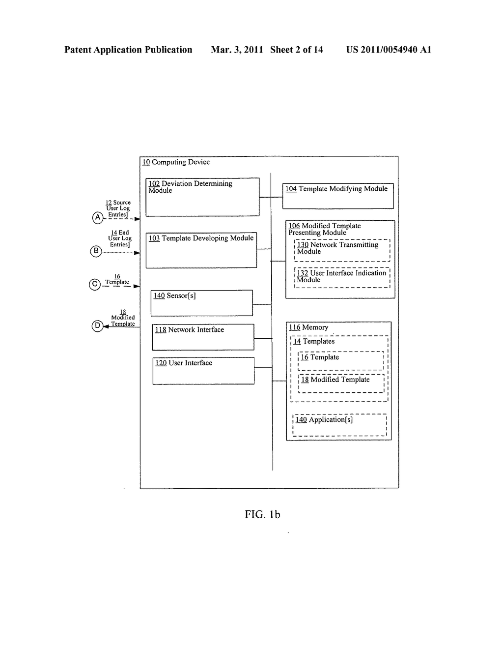 Template modification based on deviation from compliant execution of the template - diagram, schematic, and image 03