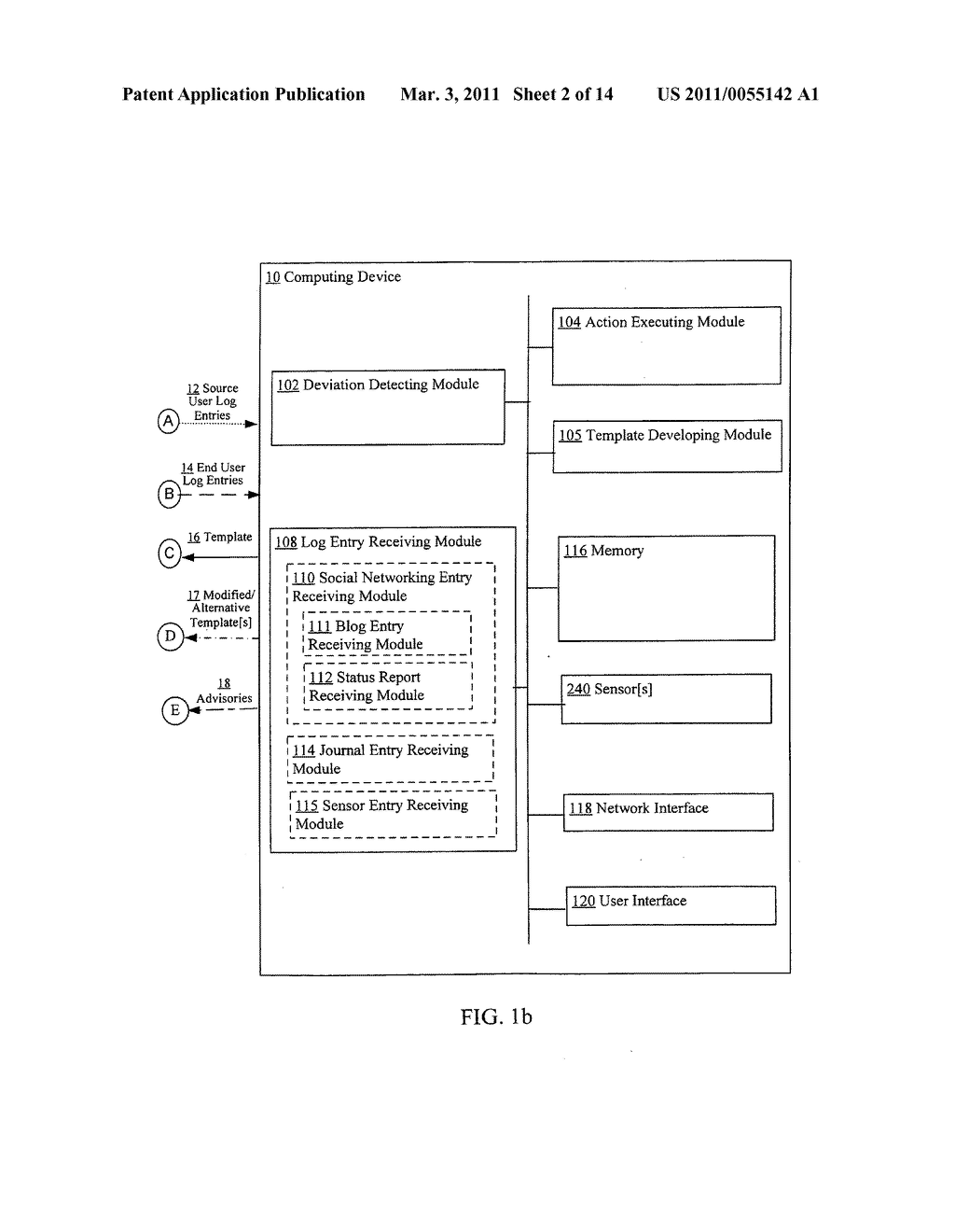 Detecting deviation from compliant execution of a template - diagram, schematic, and image 03