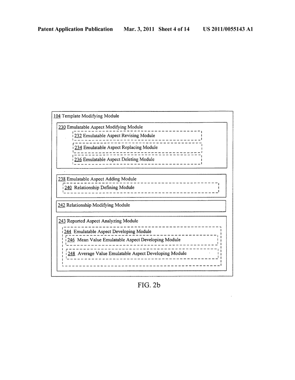Template modification based on deviation from compliant execution of the template - diagram, schematic, and image 06