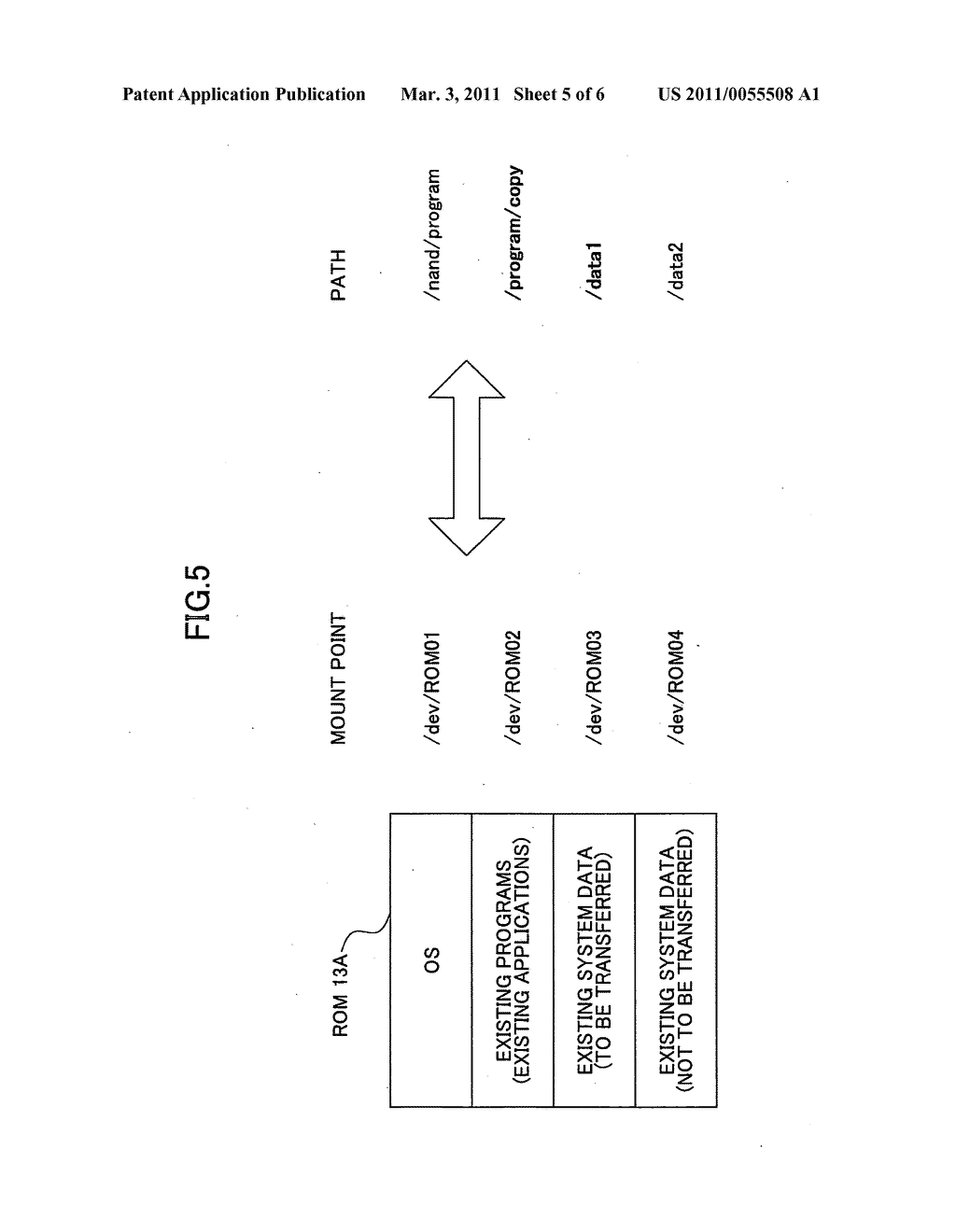 Information processing apparatus, data transfer method, and computer-readable recording medium - diagram, schematic, and image 06