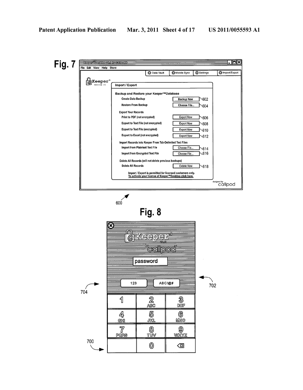 METHOD AND APPARATUS FOR PROTECTING ACCOUNT NUMBERS AND PASSWORDS - diagram, schematic, and image 05