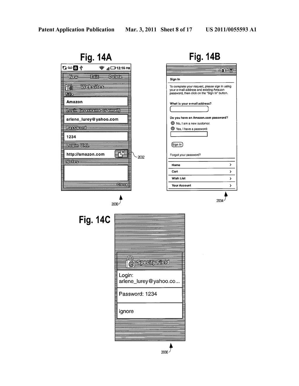 METHOD AND APPARATUS FOR PROTECTING ACCOUNT NUMBERS AND PASSWORDS - diagram, schematic, and image 09