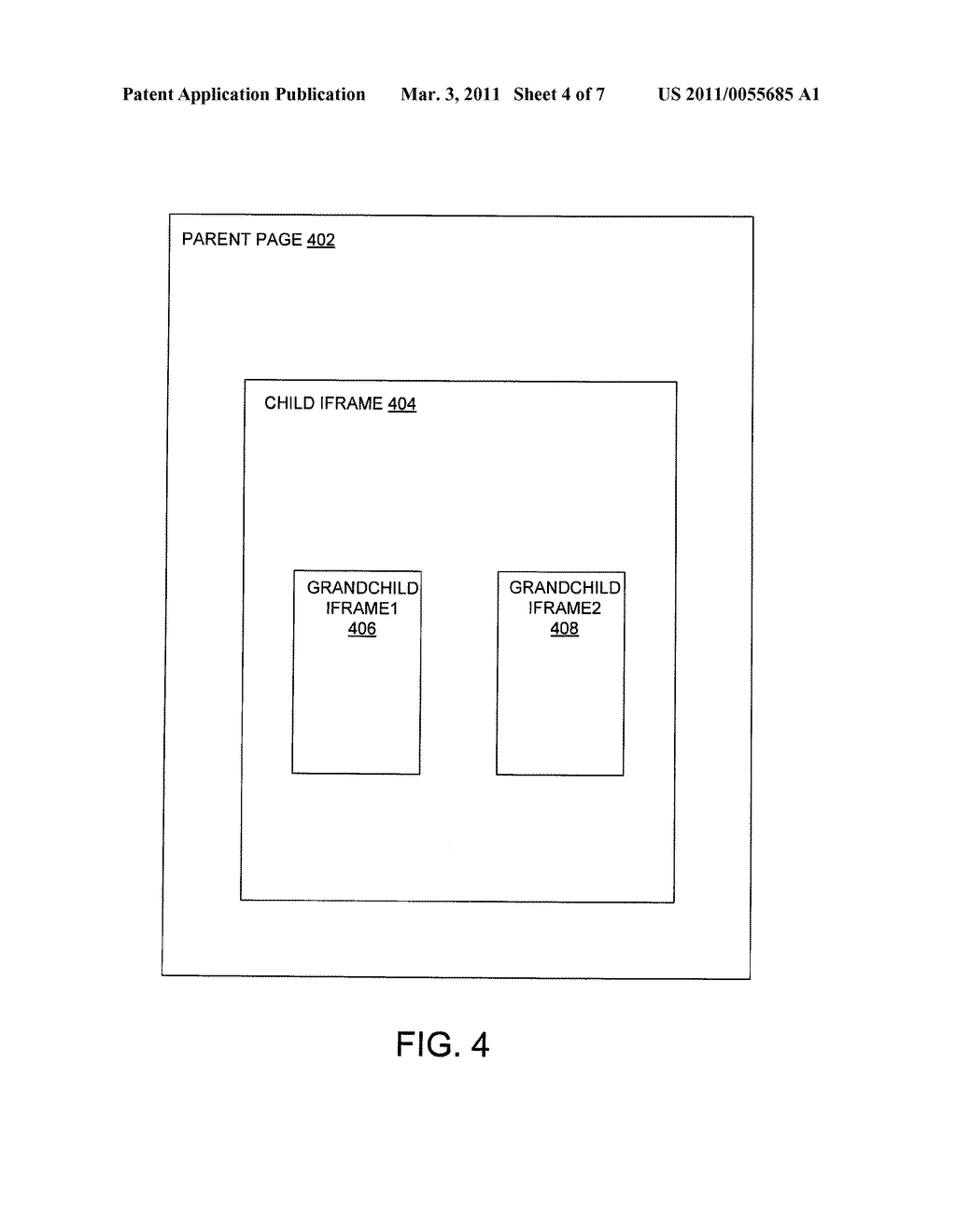 SYSTEM AND METHOD TO PROVIDE A DOMAIN SPLIT DISPLAY - diagram, schematic, and image 05