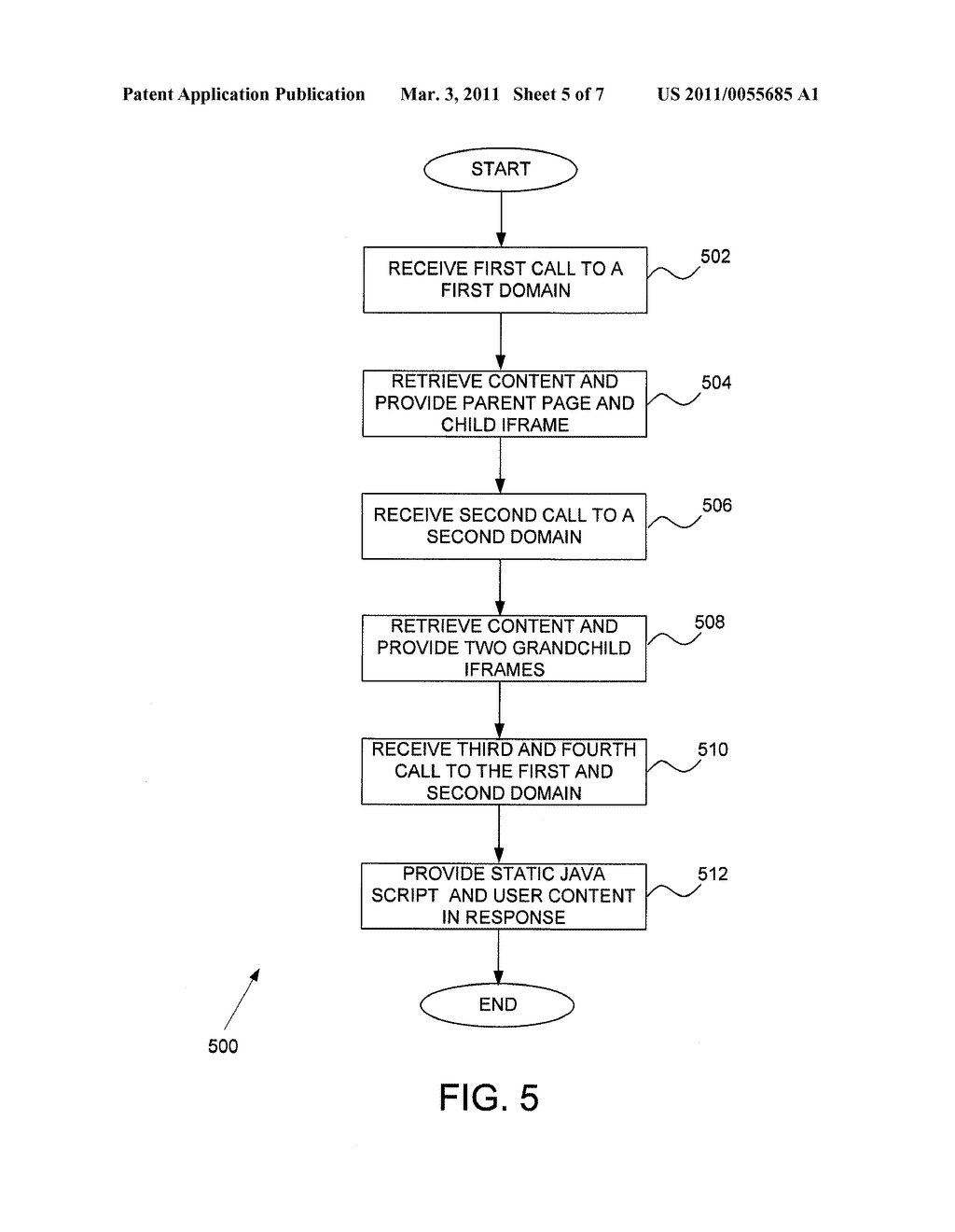 SYSTEM AND METHOD TO PROVIDE A DOMAIN SPLIT DISPLAY - diagram, schematic, and image 06