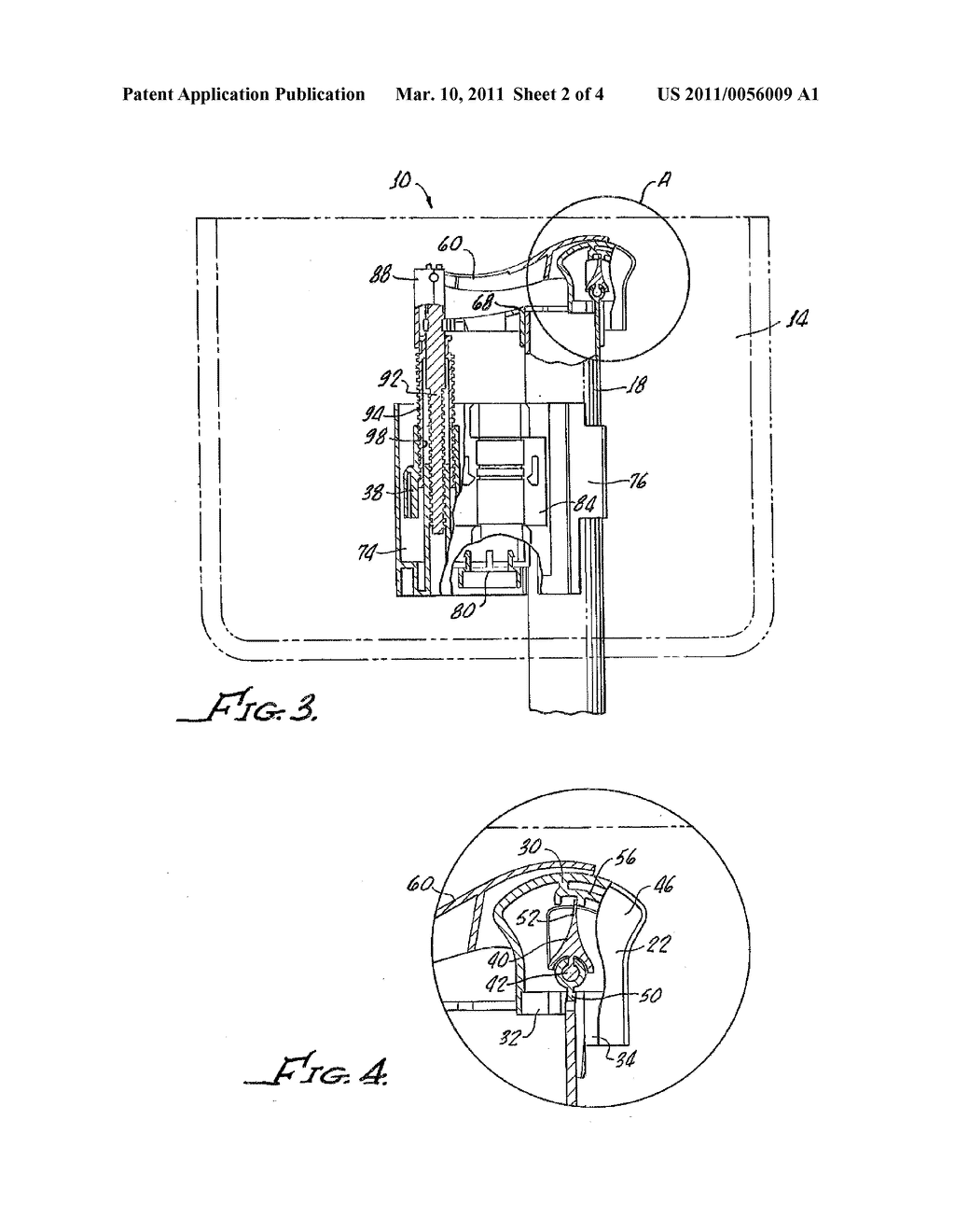 flushing toilet diagram