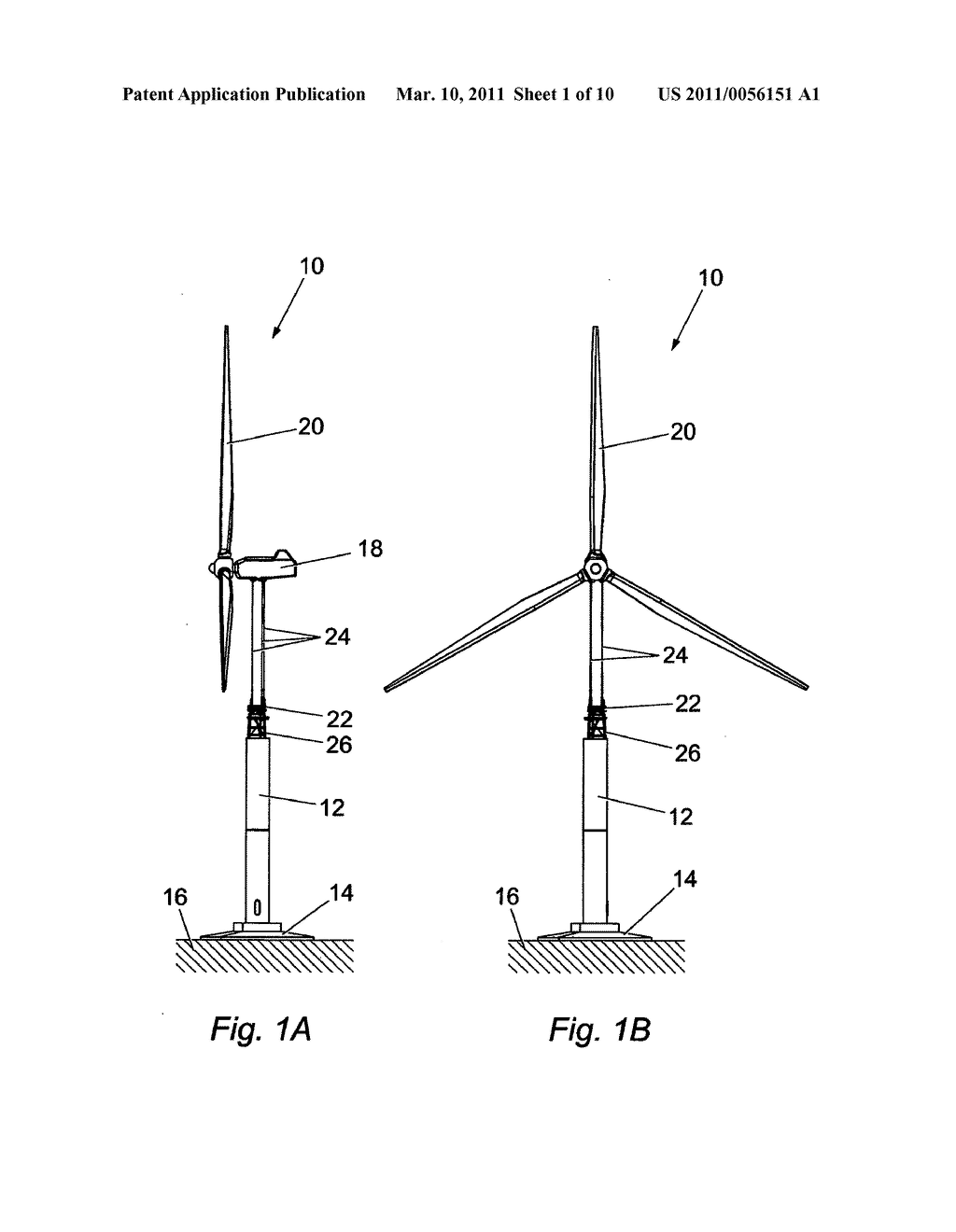 WINDTURBINE SUPPORT TOWER WITH PENDULUM-DAMPING MEANS - diagram, schematic, and image 02
