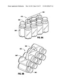 Heat-Shrinkable Holder for Articles, Heat-Shrinkable Package of Articles, Heat-Shrinkable Sleeve for Articles and Method and Device for Packaging and Sleeving Articles diagram and image
