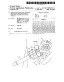 ARRANGEMENT STRUCTURE OF PARKING BRAKE LEVER AND ARRANGEMENT STRUCTURE OF OPERATING LEVER IN VEHICLE diagram and image
