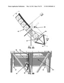 SELF-ERECTING GIMBAL MOUNTED SOLAR RADIATION COLLECTORS diagram and image