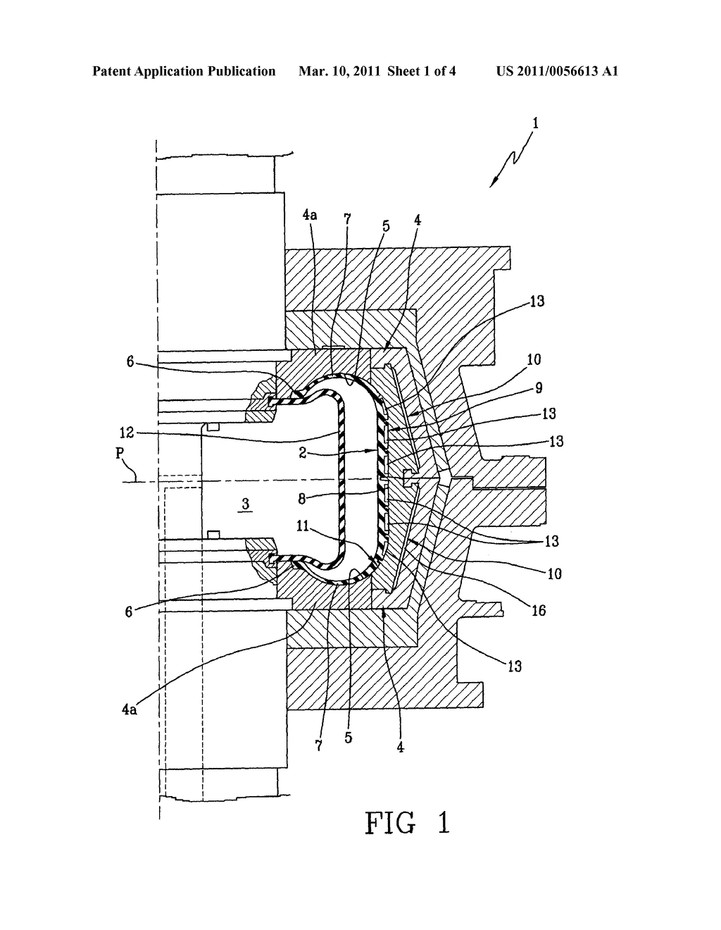 APPARATUS FOR VULCANIZATION AND MOULDING OF TYRES AND METHOD FOR MANUFACTURING THE SAME - diagram, schematic, and image 02