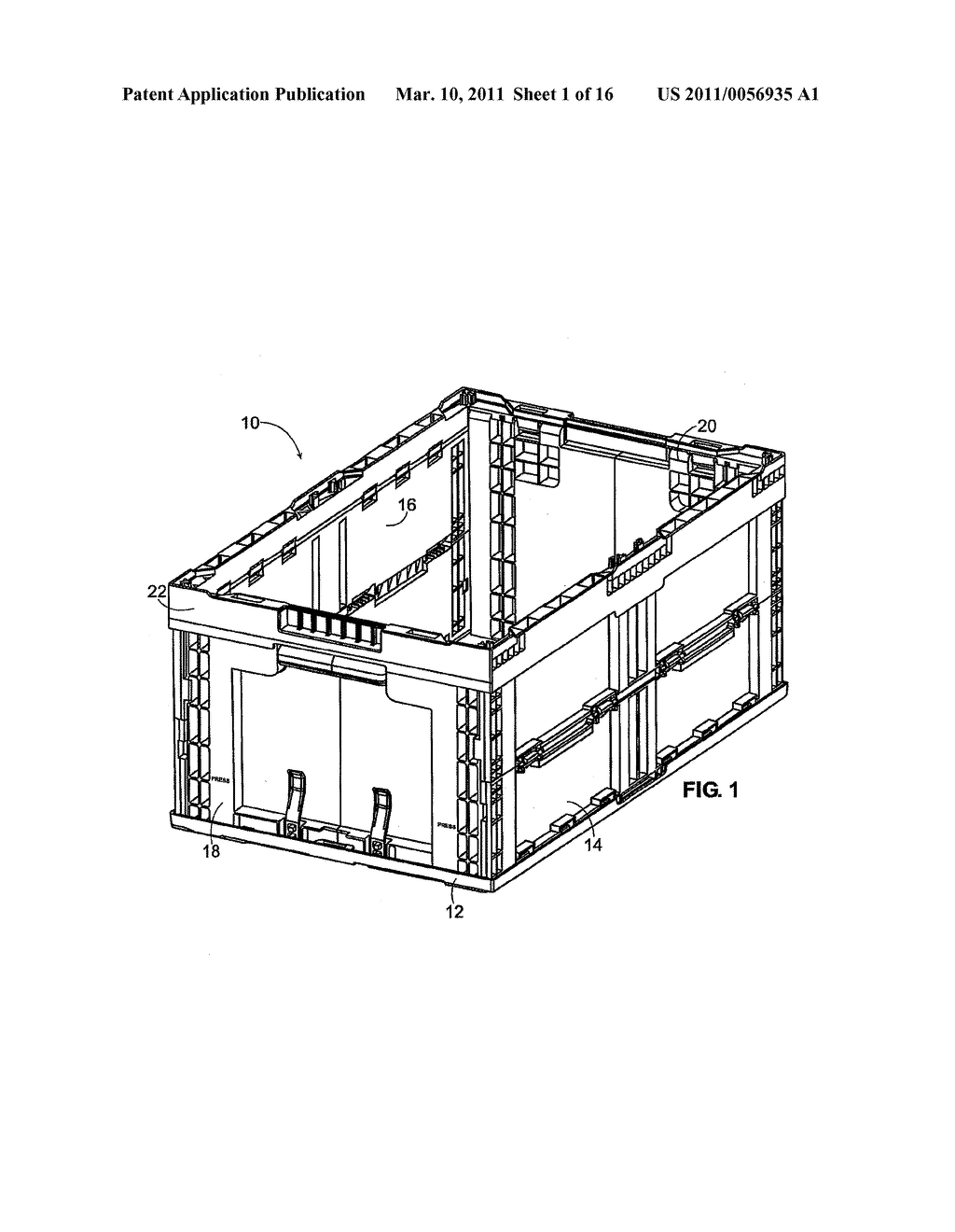 Folding Container - diagram, schematic, and image 02