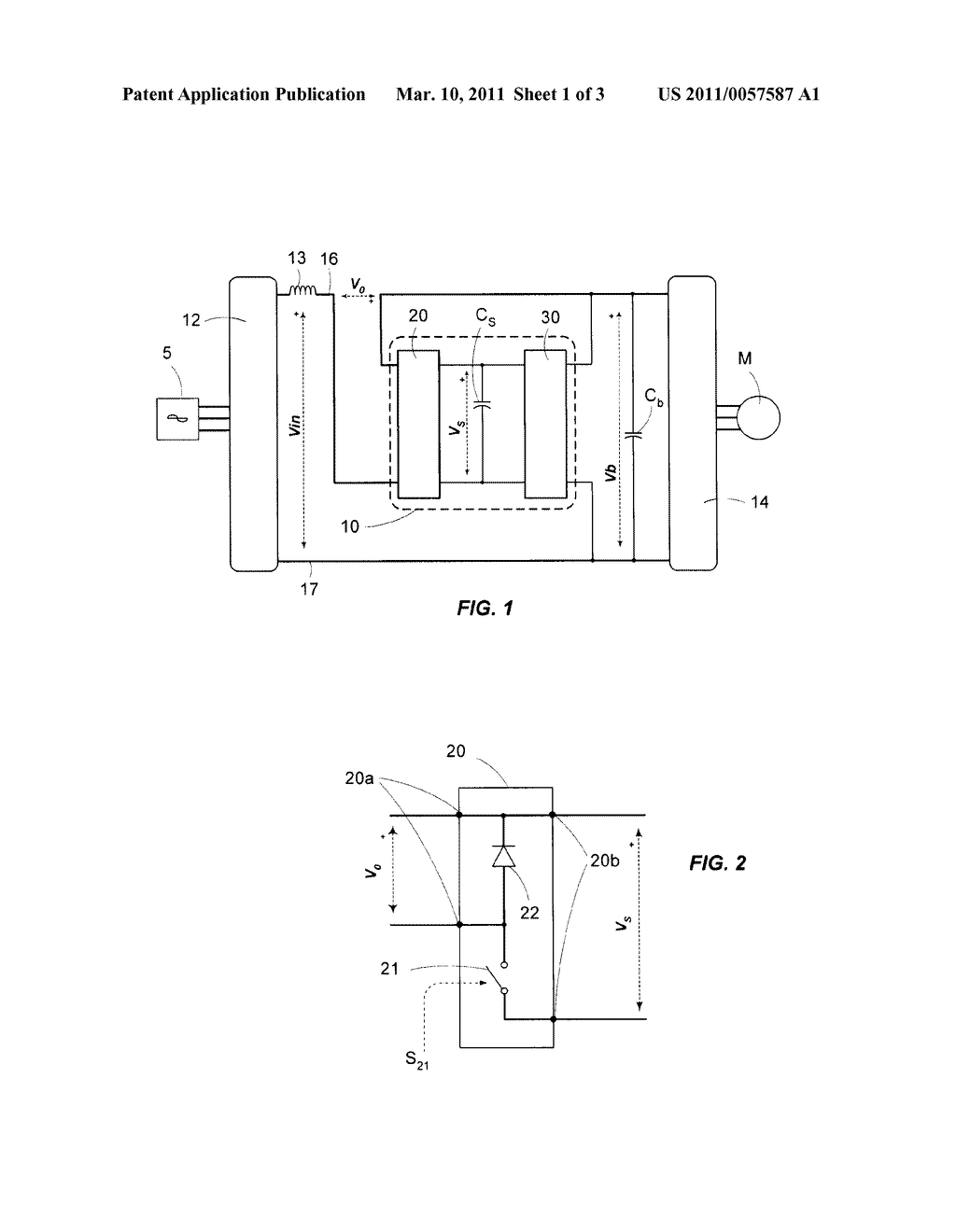 ENERGY-RECOVERY DEVICE IN A VARIABLE SPEED DRIVE - diagram, schematic, and image 02