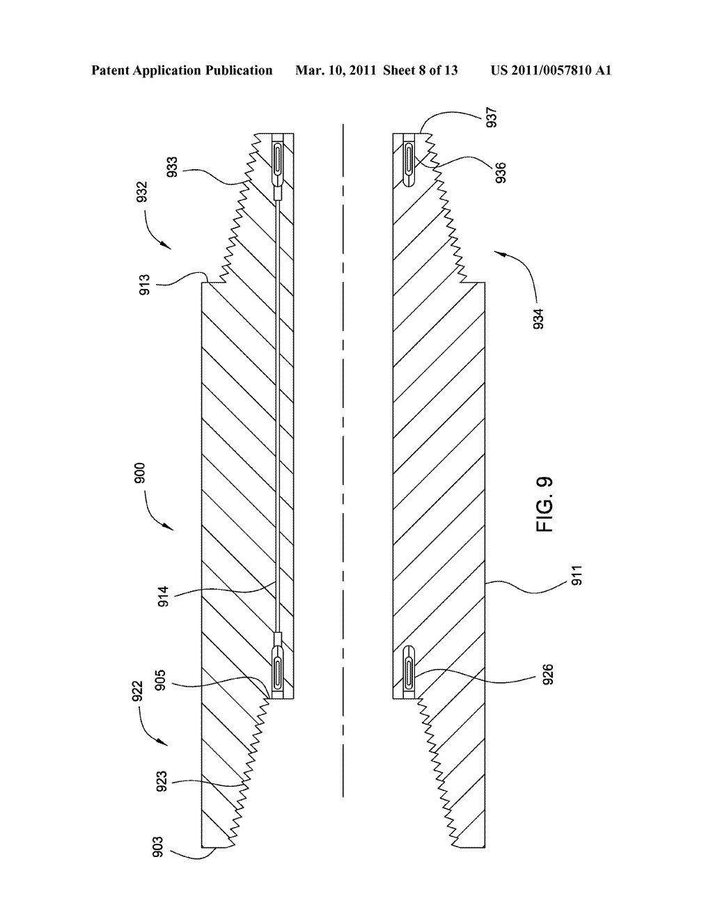 wired drill pipe connection for single shouldered application and wired drill pipe connection for single shouldered application and bha elements diagram schematic and image 09