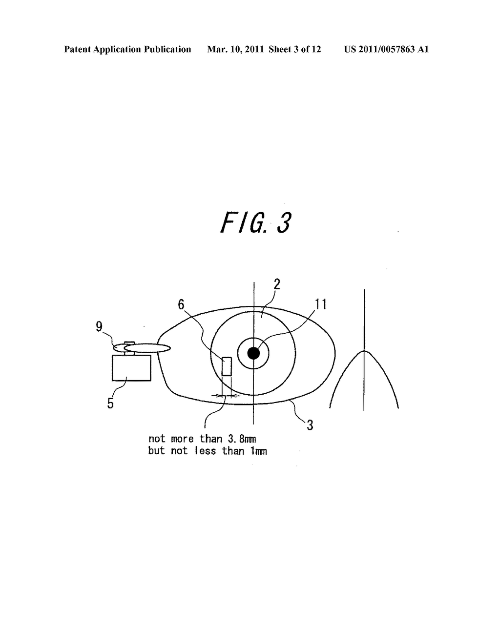 Spectacles-type image display device - diagram, schematic, and image 04