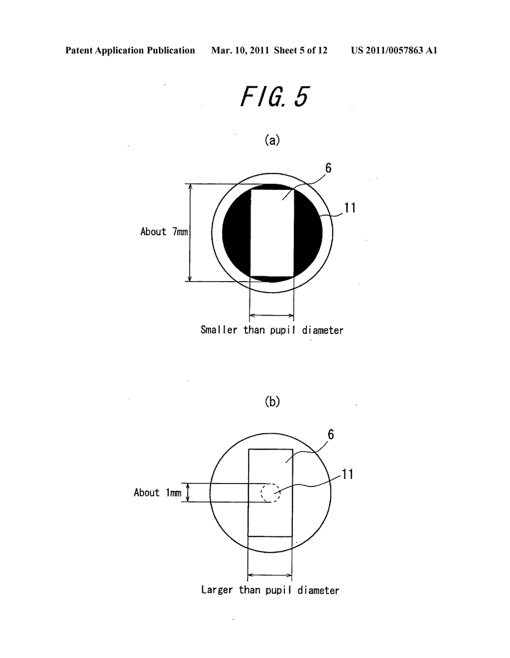 Spectacles-type image display device - diagram, schematic, and image 06
