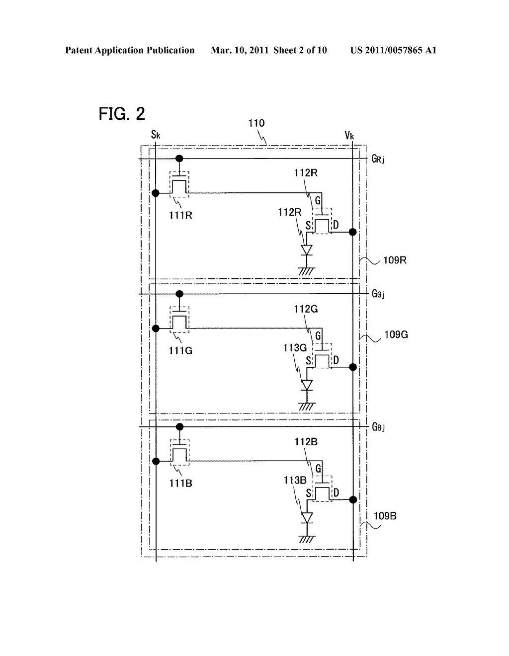 DISPLAY DEVICE AND ELECTRONIC DEVICE INCLUDING THE SAME - diagram, schematic, and image 03