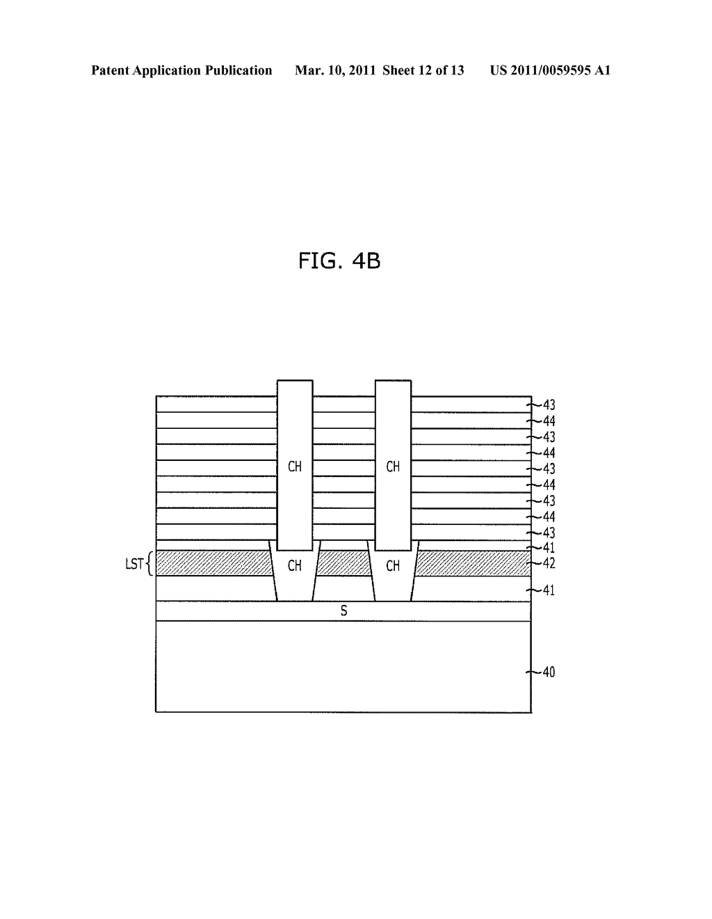 METHOD FOR FABRICATING VERTICAL CHANNEL TYPE NON-VOLATILE MEMORY DEVICE - diagram, schematic, and image 13