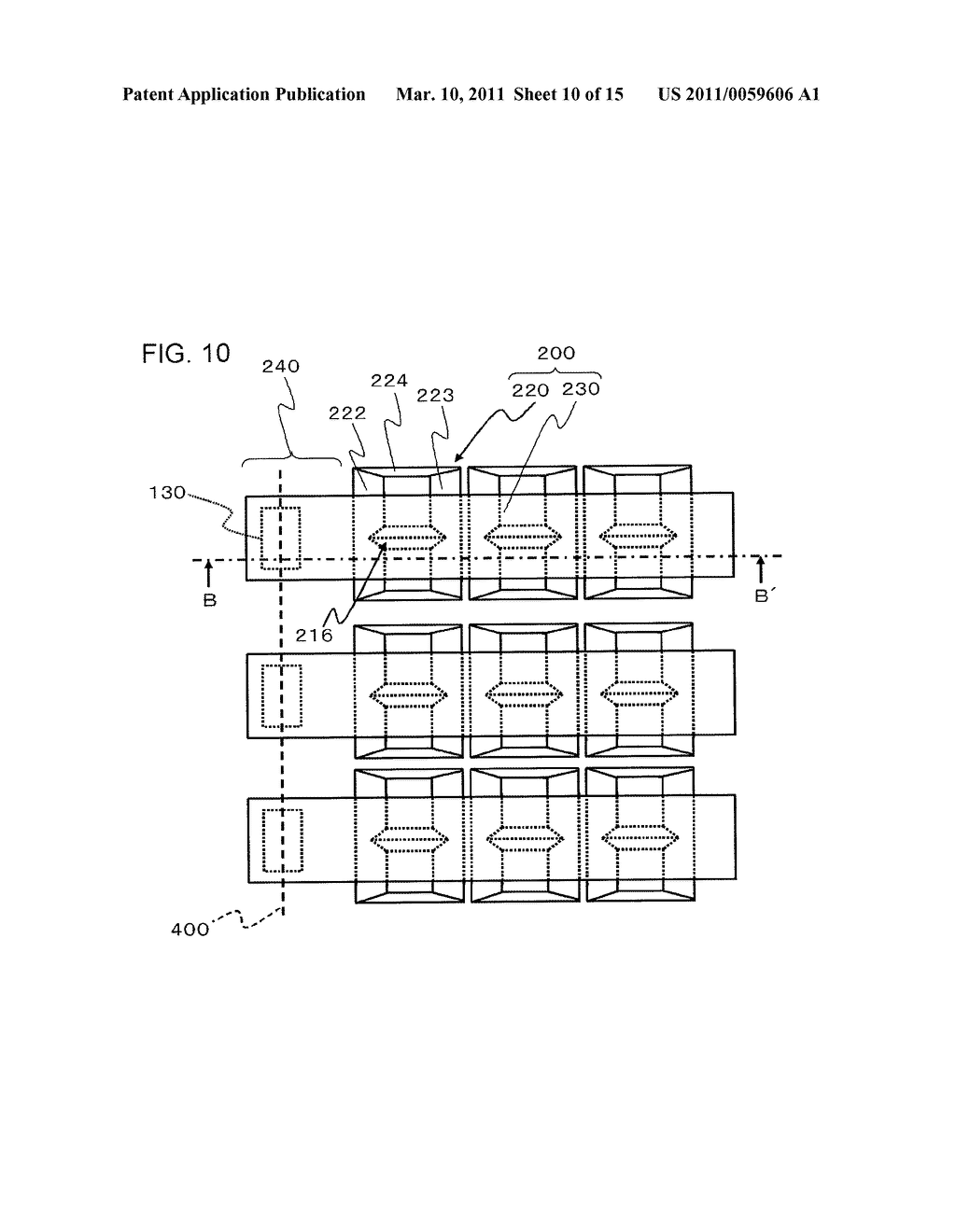 METHOD OF MANUFACTURING SEMICONDUCTOR DEVICE AND MASK - diagram, schematic, and image 11