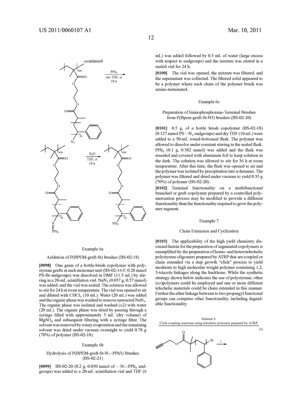 PREPARATION OF FUNCTIONAL POLYMERS - diagram, schematic, and image 17