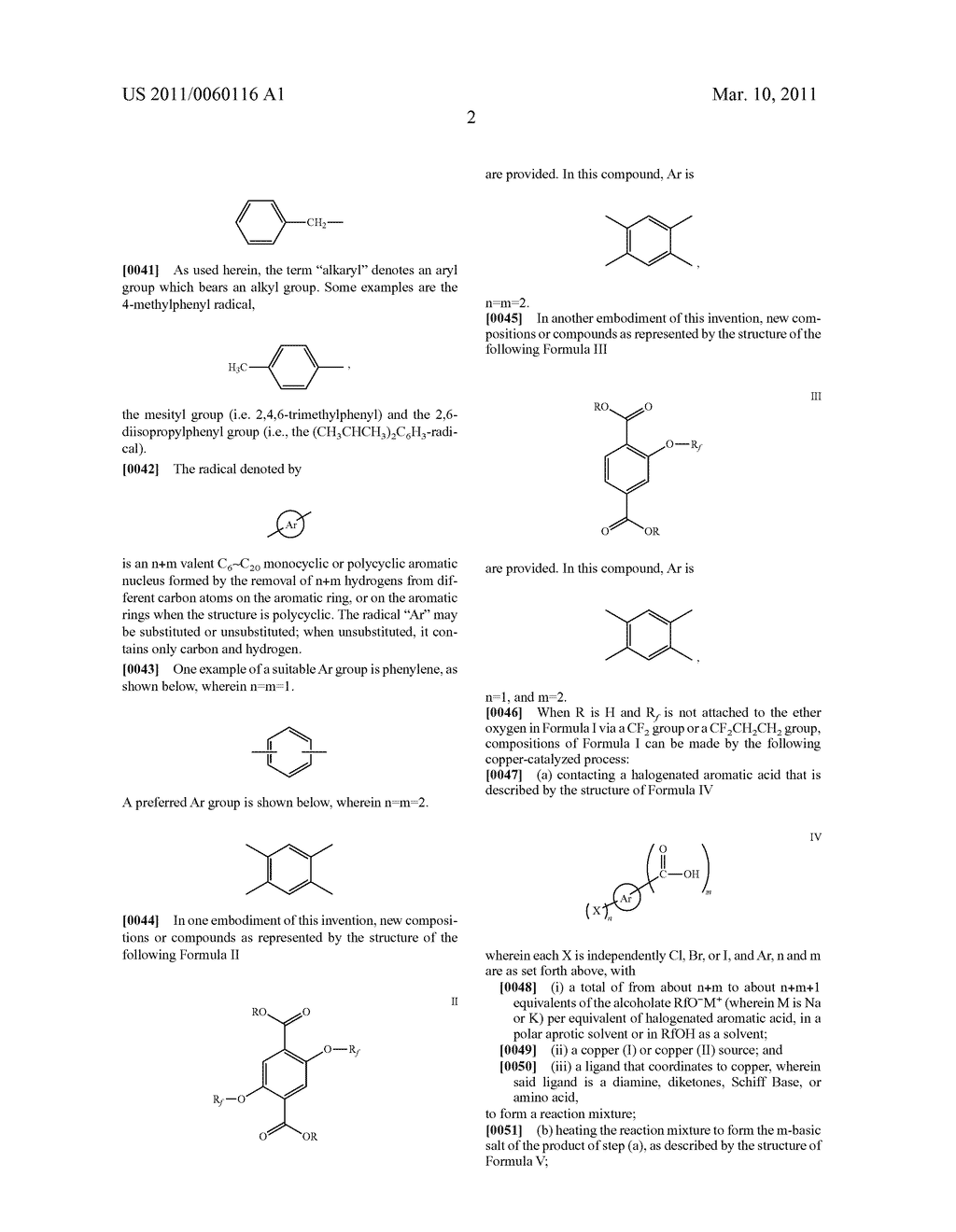 PROCESS FOR THE SYNTHESIS OF FLUORINATED ETHERS OF AROMATIC ACIDS - diagram, schematic, and image 03