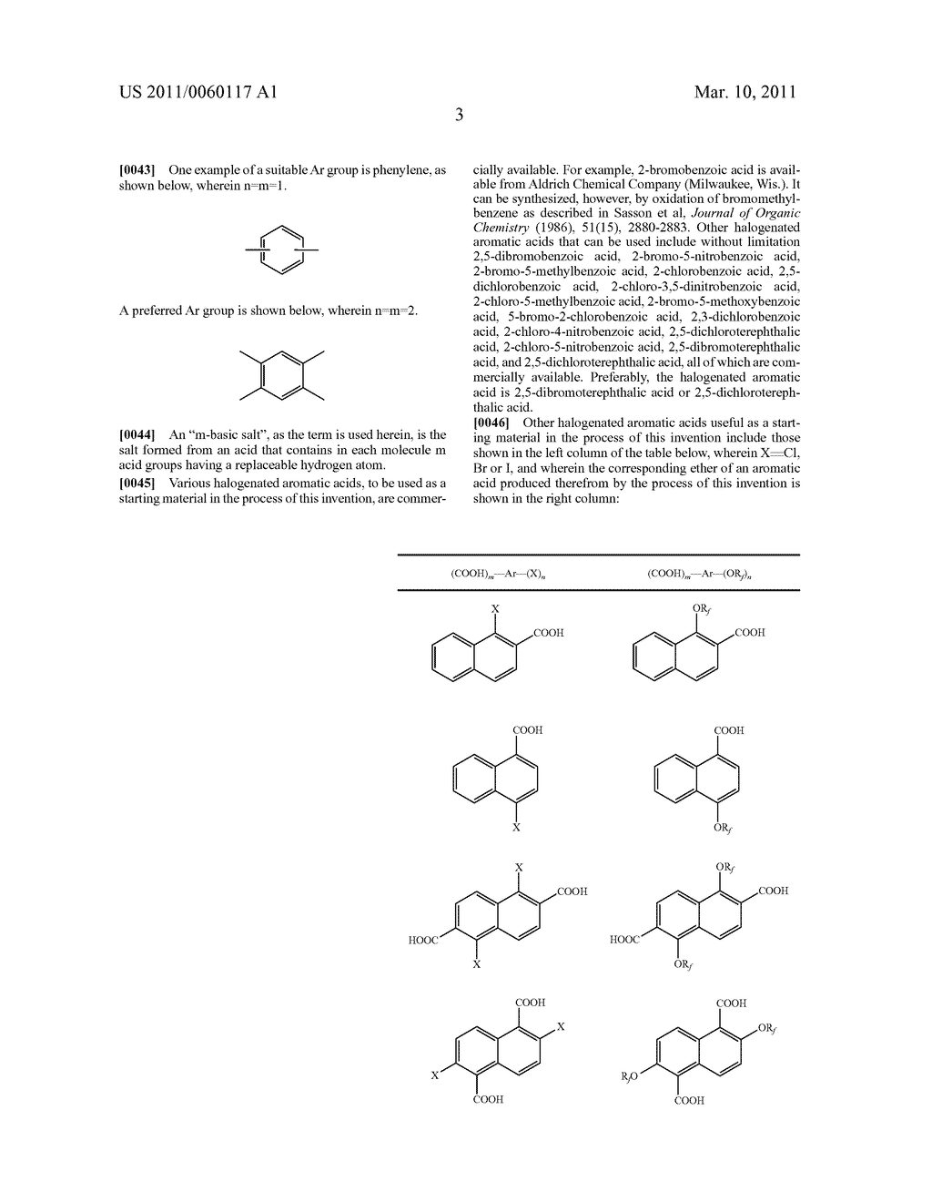 PROCESS FOR THE SYNTHESIS OF FLUORINATED ETHERS OF AROMATIC ACIDS - diagram, schematic, and image 04