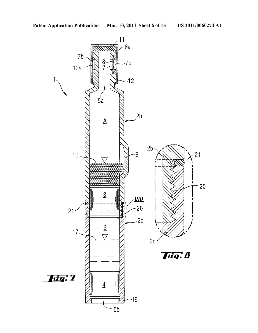 TWO-CHAMBER INJECTION DEVICE HAVING GAS-PERMEABLE MEMBRANE - diagram, schematic, and image 07