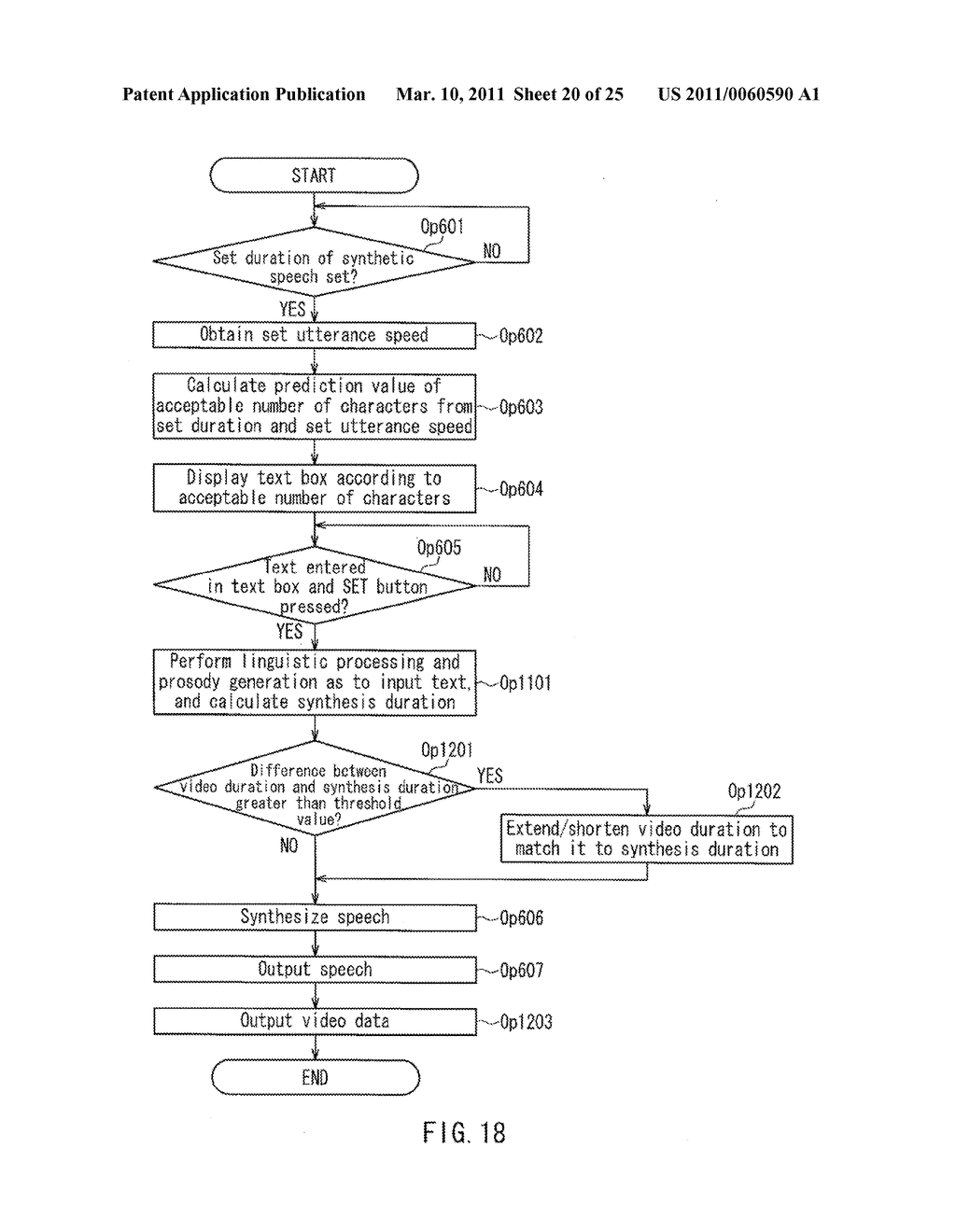 SYNTHETIC SPEECH TEXT-INPUT DEVICE AND PROGRAM - diagram, schematic, and image 21
