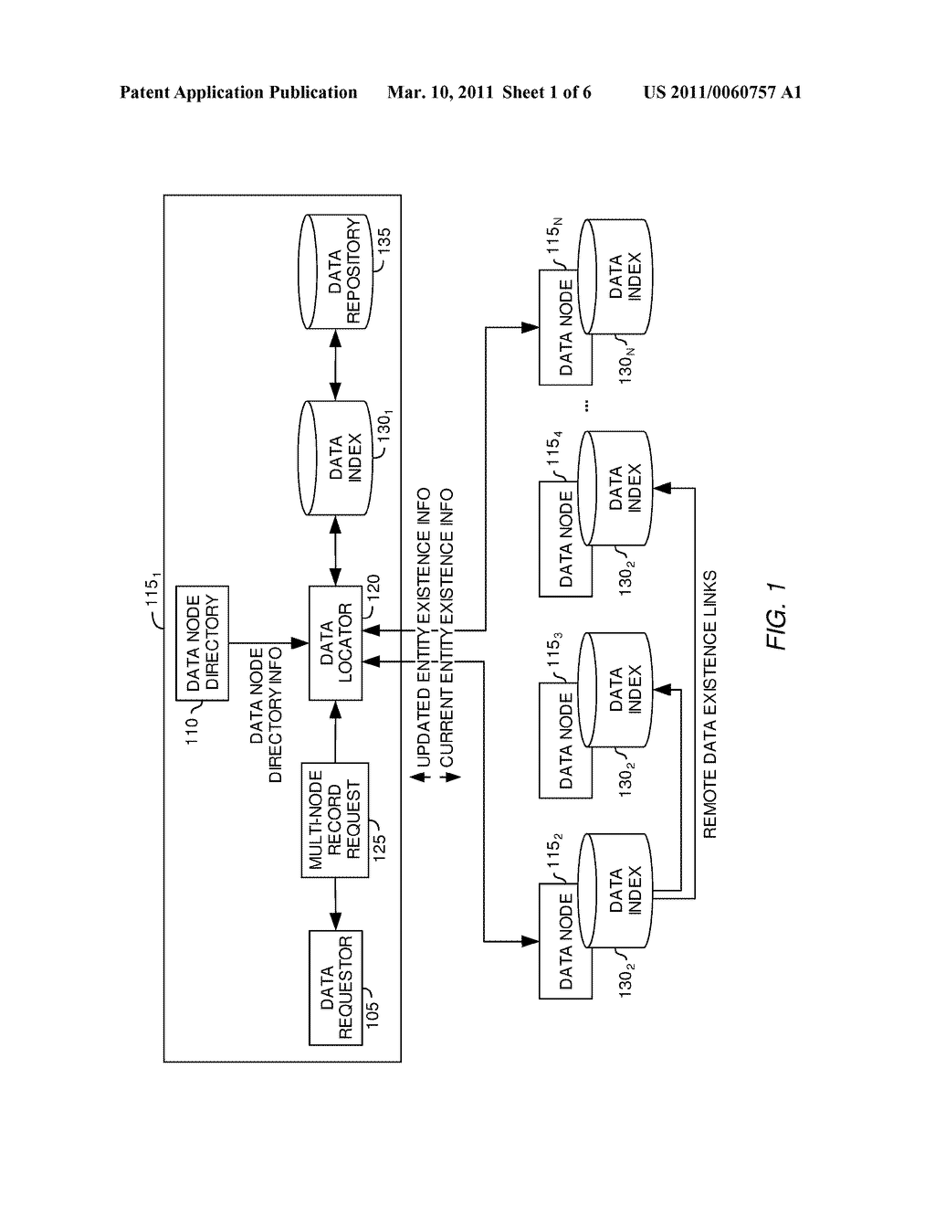OPTIMIZED METHOD OF LOCATING COMPLETE AGGREGATION OF PATIENT HEALTH RECORDS IN A GLOBAL DOMAIN - diagram, schematic, and image 02