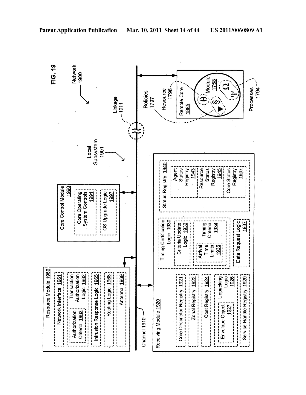 Transmitting aggregated information arising from appnet information - diagram, schematic, and image 15
