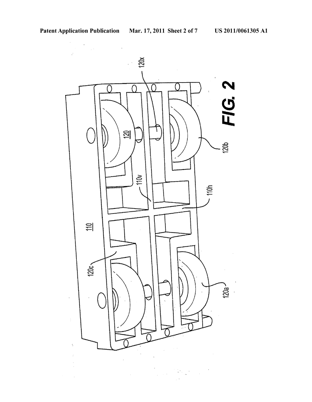 ROLLER FOR A SLIDING PANEL ASSEMBLY, AND METHOD OF INSTALLING A SLIDING PANEL ASSEMBLY - diagram, schematic, and image 03