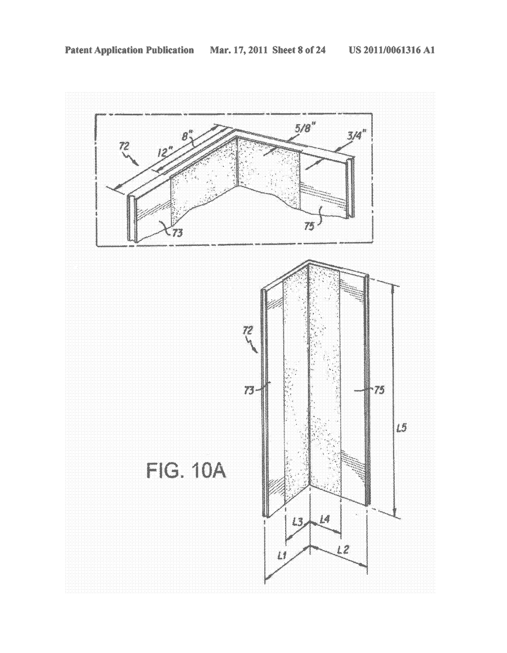 NON-COMBUSTIBLE REINFORCED CEMENTITIOUS LIGHTWEIGHT PANELS AND METAL FRAME SYSTEM FOR BUILDING FOUNDATIONS - diagram, schematic, and image 09