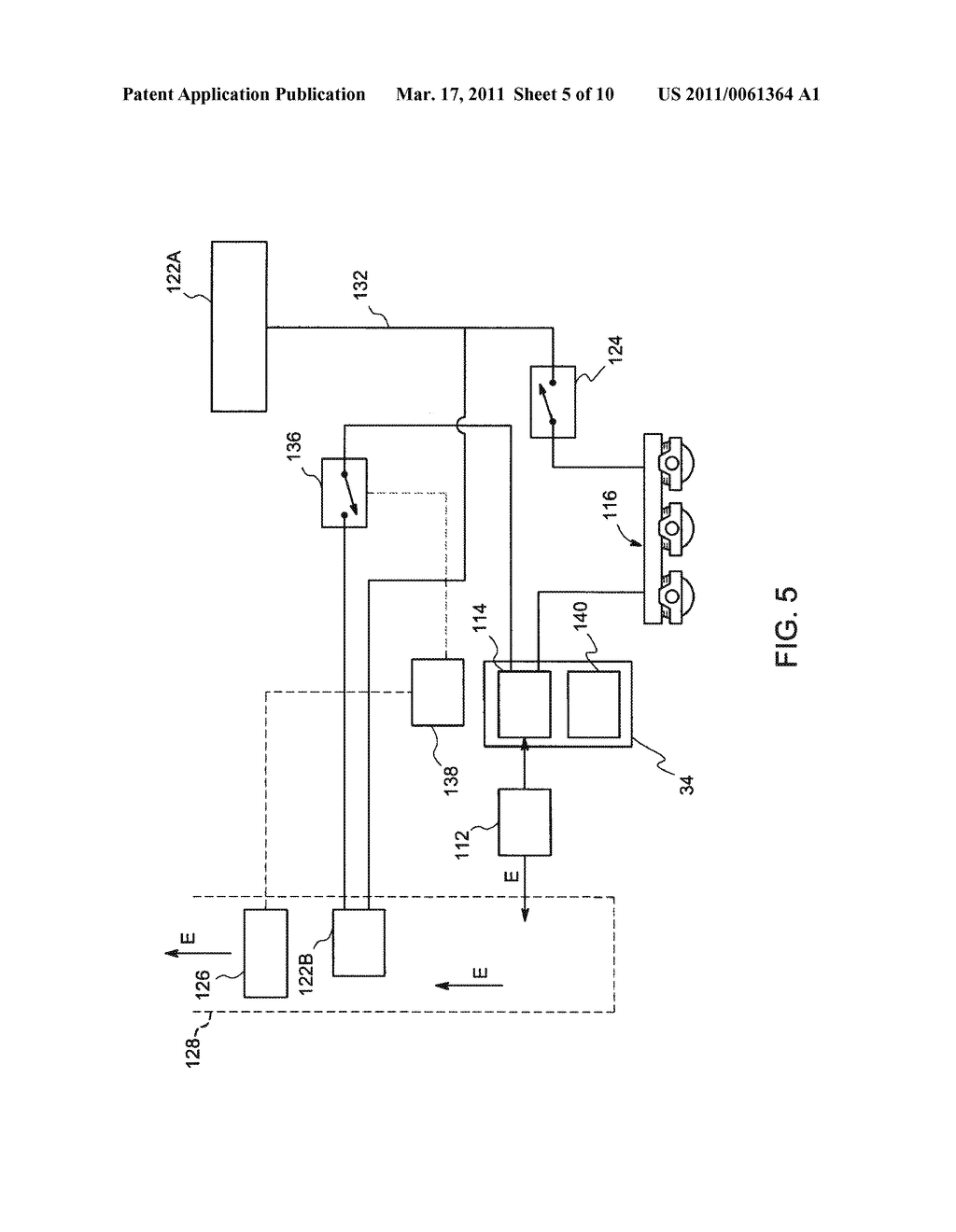 METHOD AND SYSTEM FOR UTILIZATION OF REGENERATIVE BRAKING ELECTRICAL ENERGY FOR OPERATING AUXILIARY SYSTEM IN AN OFF-HIGHWAY VEHICLE - diagram, schematic, and image 06