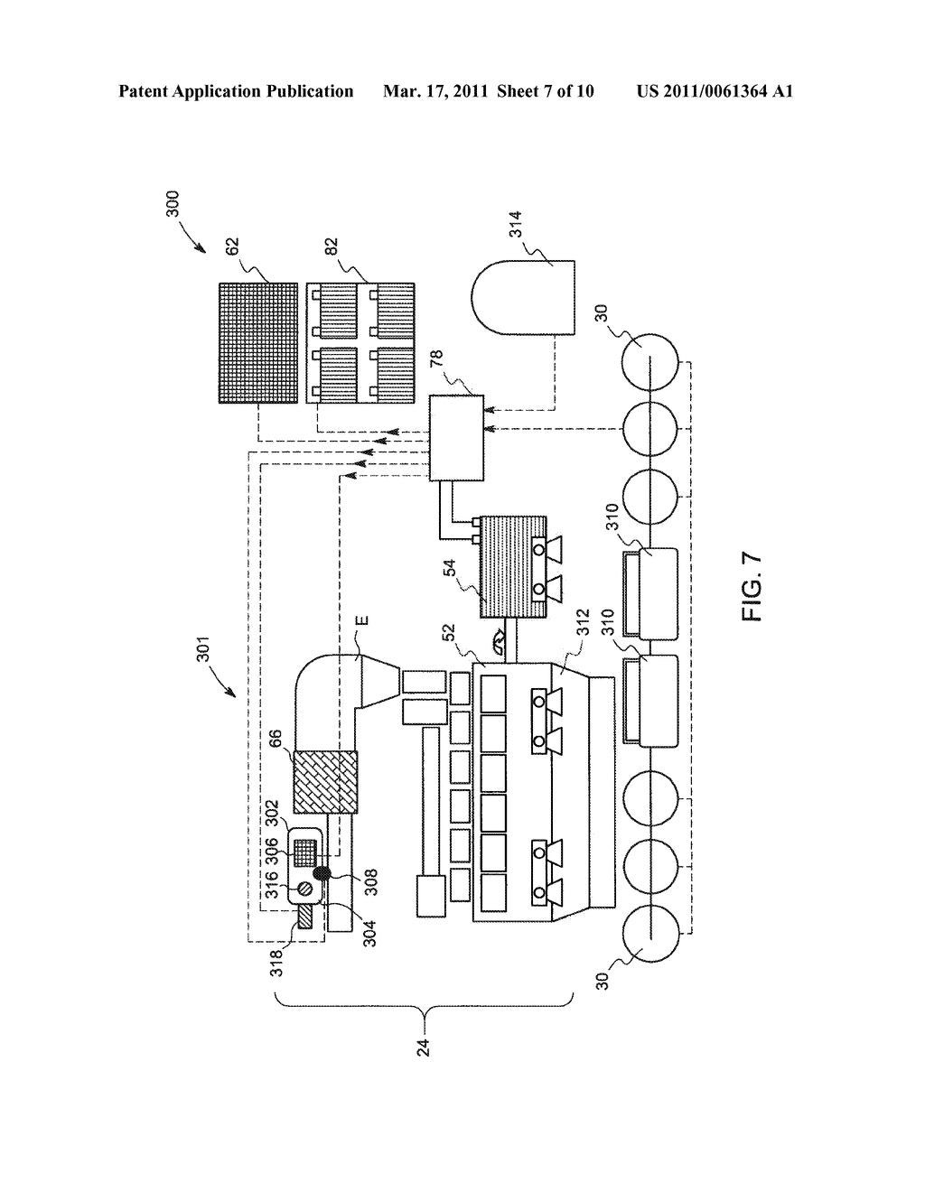METHOD AND SYSTEM FOR UTILIZATION OF REGENERATIVE BRAKING ELECTRICAL ENERGY FOR OPERATING AUXILIARY SYSTEM IN AN OFF-HIGHWAY VEHICLE - diagram, schematic, and image 08