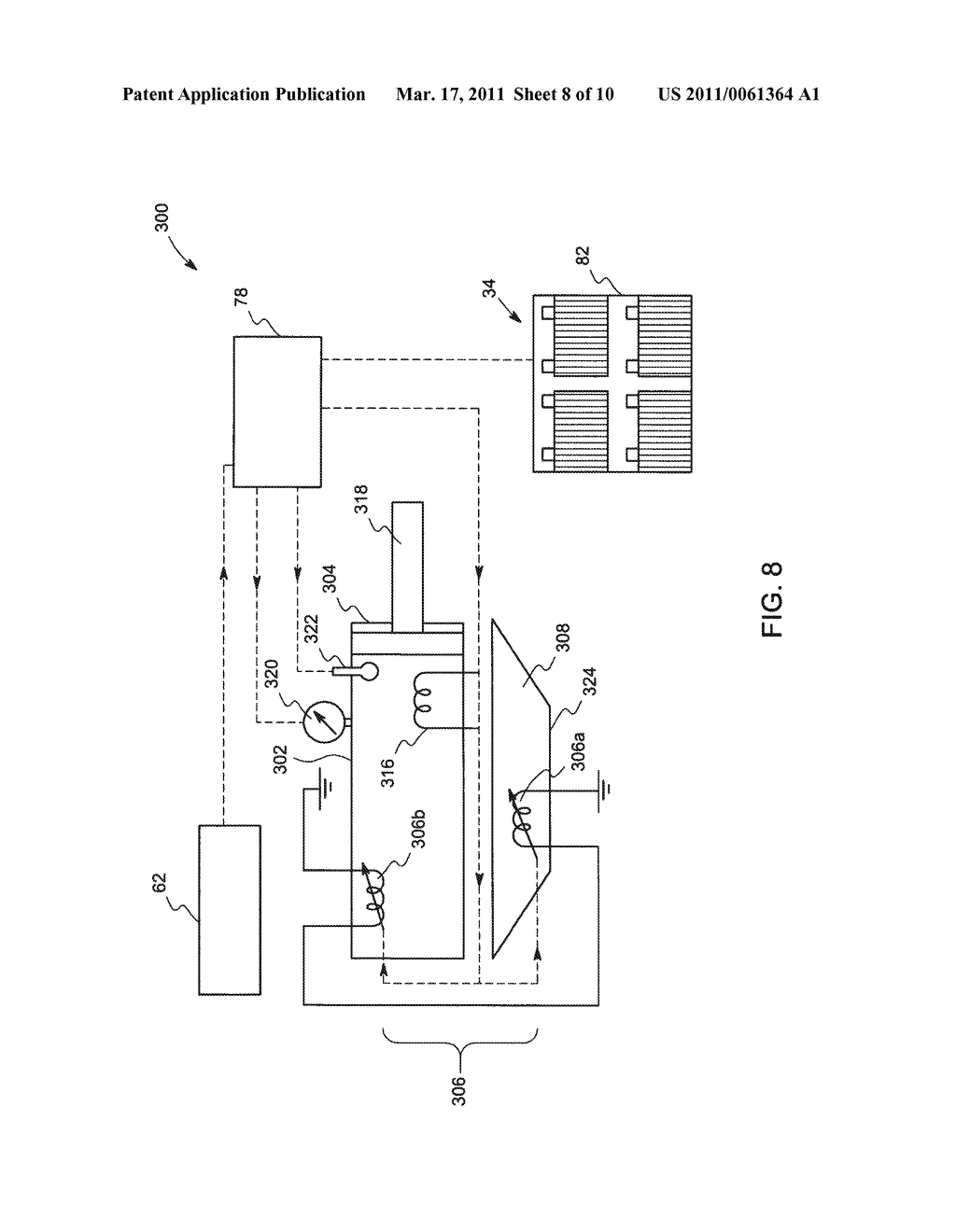 METHOD AND SYSTEM FOR UTILIZATION OF REGENERATIVE BRAKING ELECTRICAL ENERGY FOR OPERATING AUXILIARY SYSTEM IN AN OFF-HIGHWAY VEHICLE - diagram, schematic, and image 09
