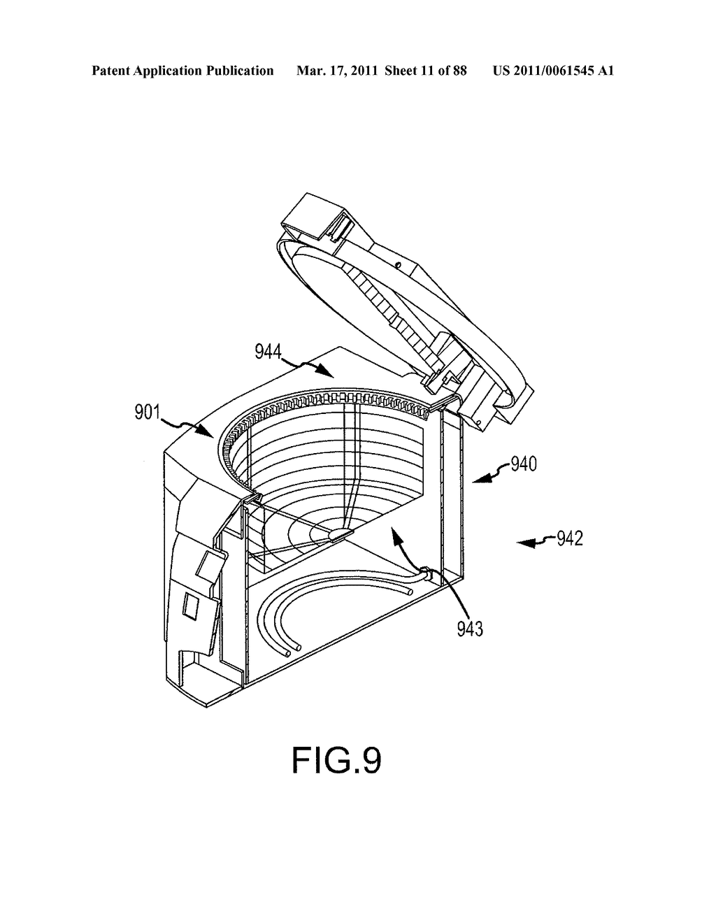 COOKING DEVICE WITH SLIDABLE DRAWER - diagram, schematic, and image 12